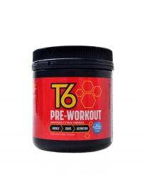 T6 Pre-workout 210 g modrá malina