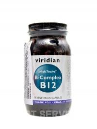 B-complex B12 high twelwe 90 kapslí