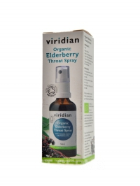 Elderberry Throat Spray 50ml Organic