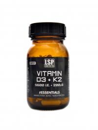 Vitamin D3 5600 IU / K2 200mcg 60 vege kapslí