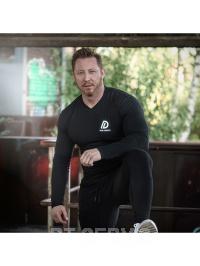 Tričko Longsleeve shirt black