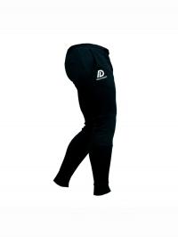 Tréninkové kalhoty pánské slimfit černé