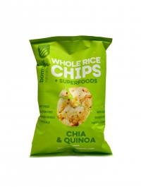 Whole Rice chips 60g