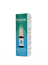 Nano CBD/CBG spray 50 + 50mg - 10ml