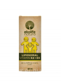 Eko Liposomal vitamín K2 + D3 60 ml