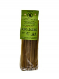 Pasta aglio basilico 250 g česnek a bazalka