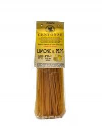 Pasta limone pepe 250 g citron a černý pepř