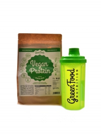 Vegan protein 500g + shaker 500ml