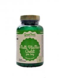 Multivitamin chelát pro ženy 60 vegan kapslí