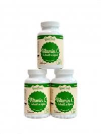 Vitamín C + extrakt z šípků 180 vegan kapslí