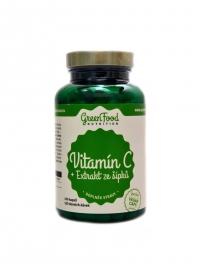 Vitamín C + extrakt z šípků 120 vegan kapslí