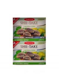 Shii-Take + Rhodiola Rosea 2 x 60 kapslí