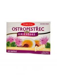Ostropestřec + Reishi forte 60 kapslí