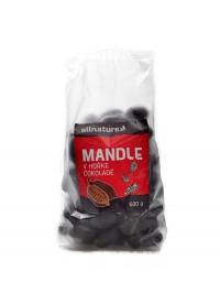 Mandle v hořké čokoládě 500g
