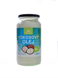 BIO Kokosový panenský olej 1000ml