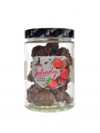 Jahody v mléčné čokoládě 110g kamilasikl