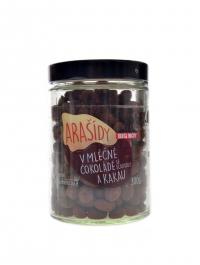 Arašídy v mléčné čokoládě a kakau 300g