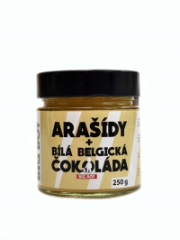 Arašídový krém s bílou čokoládou 250 g