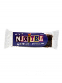 Mixitka bez lepku švestka čokoláda 50g