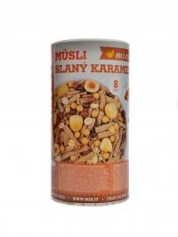 Musli pečený mixit slaný karamel, oříšky 490g