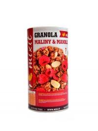 Granola z pece maliny a mandle 440g