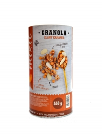 Granola slaný karamel 550g