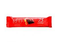 Hořká čokoláda 26g 75 kcal pomeranč mandle