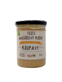 100% Arašídový krém křupavý 390 g