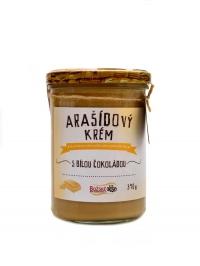 Arašídový krém s bílou BIO čokoládou 390 g