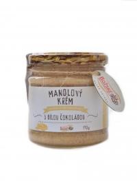 Mandlový krém s bílou čokoládou 190 g
