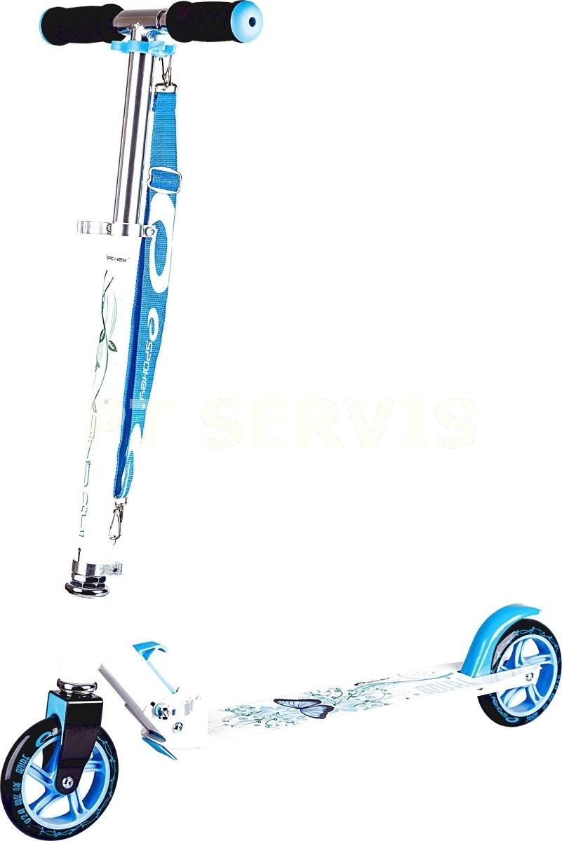 Azure koloběžka 145 mm bílo-modrá