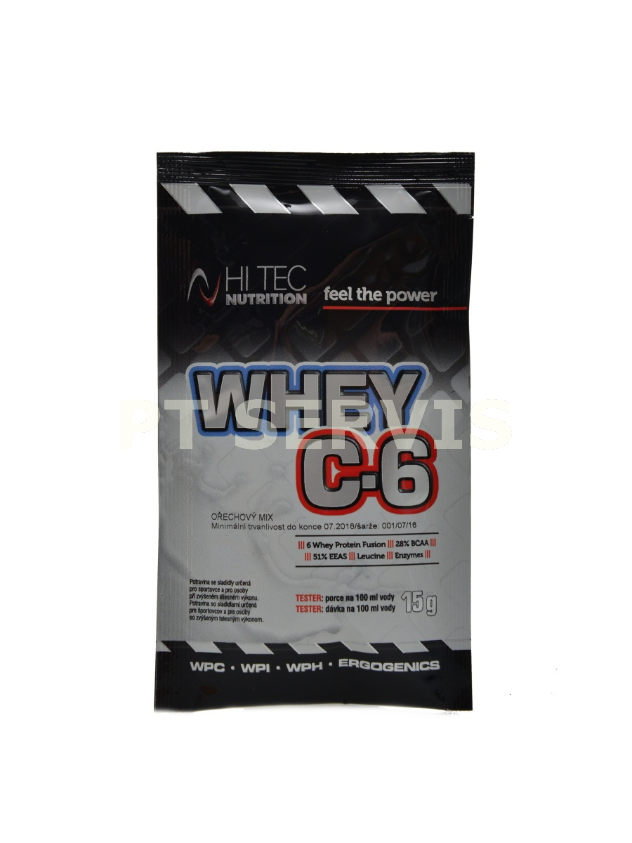 Whey C6 CFM 100% whey 15 g tester
