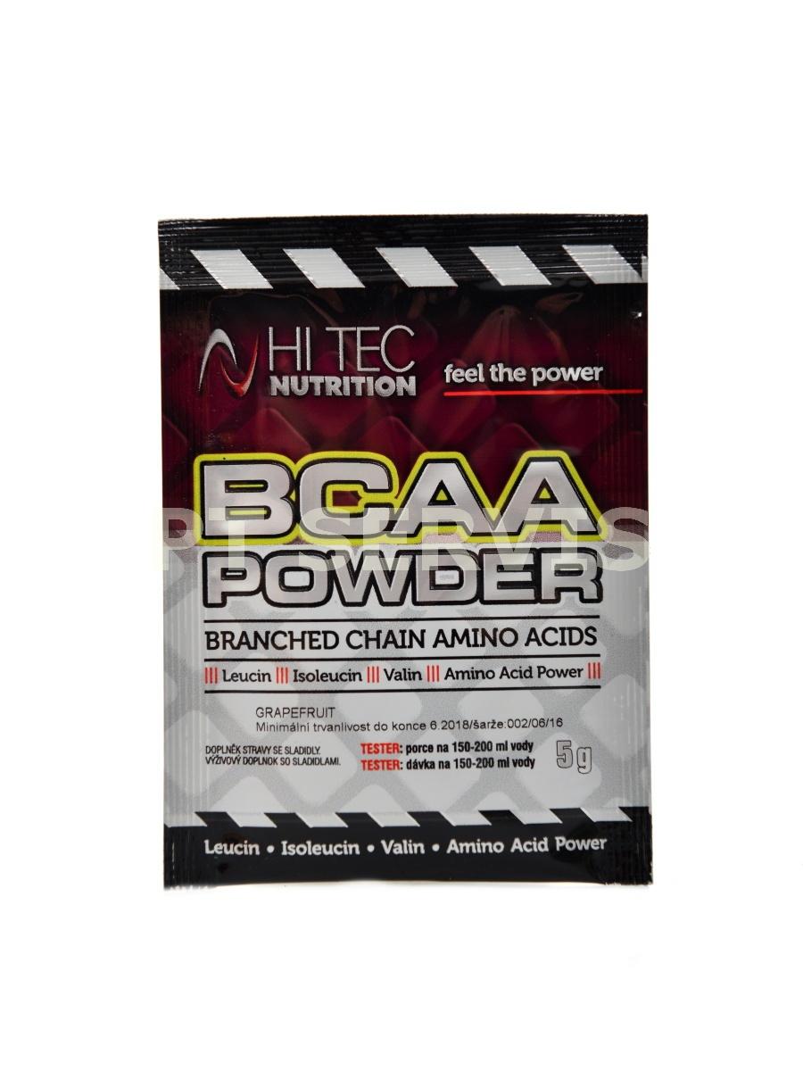 BCAA powder 5 g tester