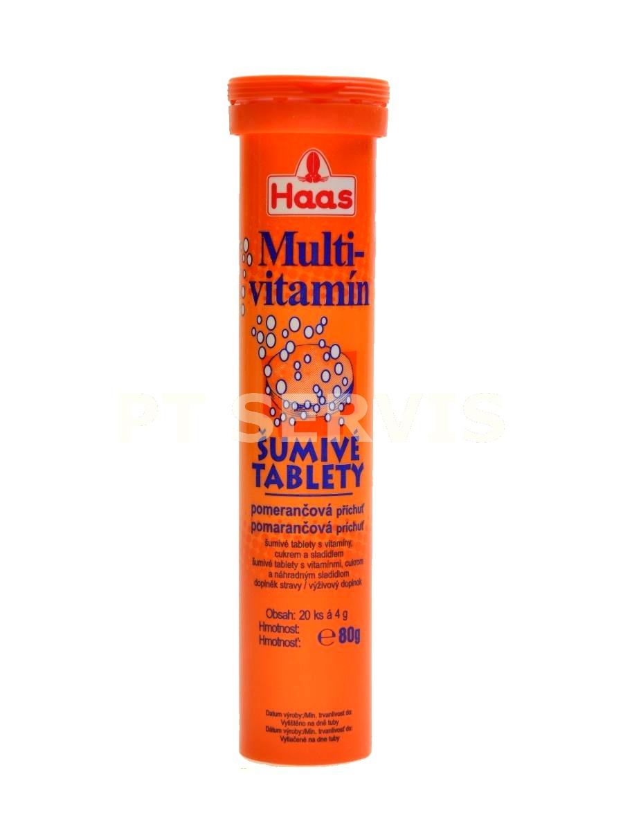 Multivitamín 20 šumivých tablet