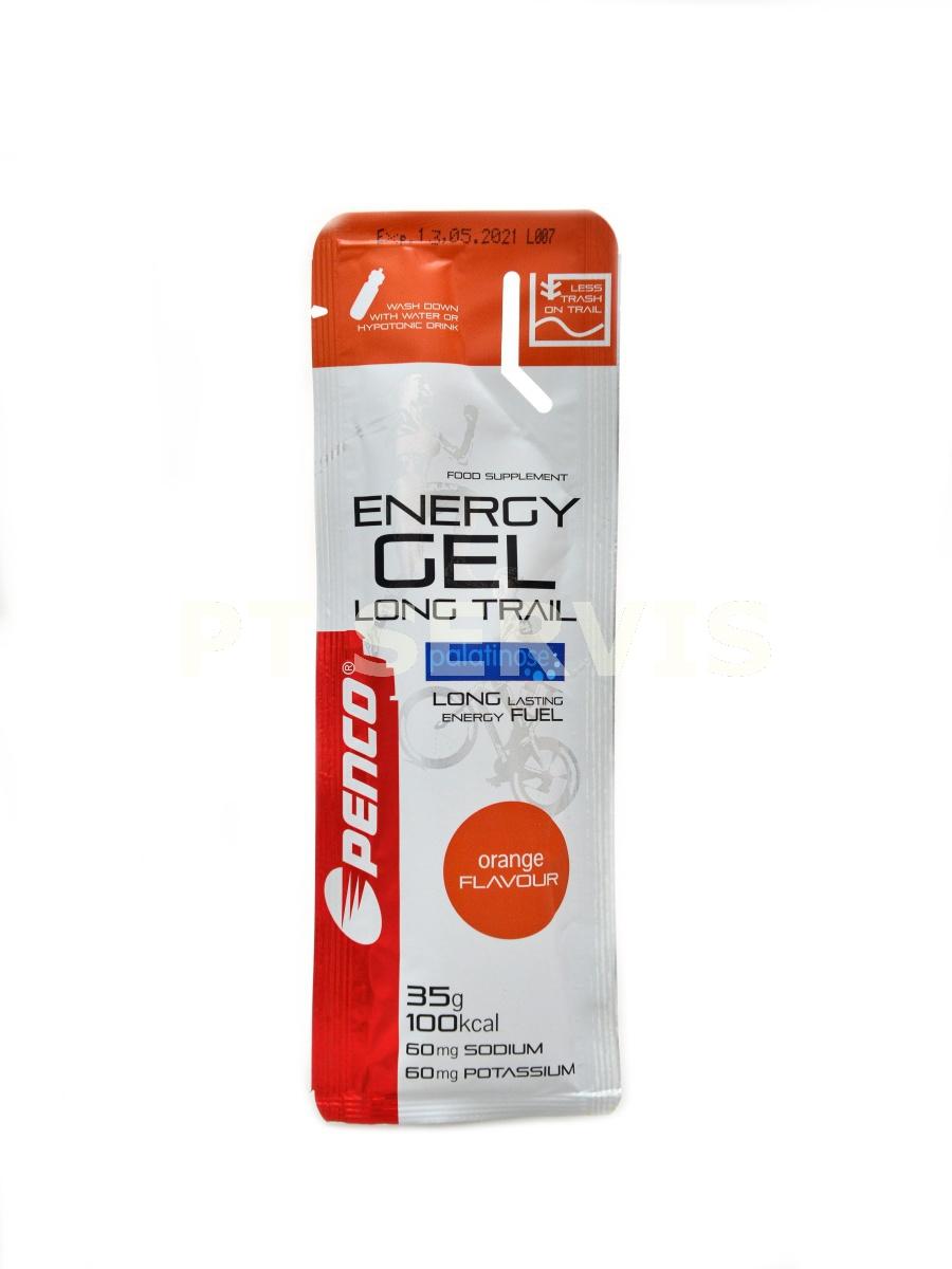 Energy gel 35g pomeranč